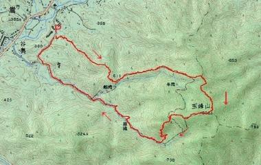 『玉峰山(820m)Jul. 2, 2019』の画像