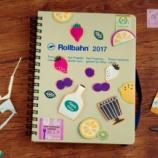 『Rollbahn 2017 新しい手帳が届きました』の画像