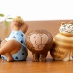 北欧の人気陶芸作家「リサ・ラーソン」作品のミニチュアフィギュアがガチャに登場!