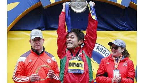 海外「市民ランナーの誇りだ」川内優輝が日本勢31年ぶりとなるボストンマラソン優勝