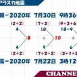 『2020.7.31 Zoo Taku氏特集 -まあ、形式に則った儀式が行われたということでしょう。A)アラスカ地震とのリンク。B)東関東大震災とのリンク。』の画像
