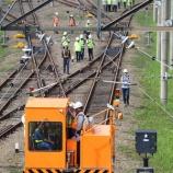 『MRTJ Lebak Bulus電車区構内向け入替機材、牽引試験実施(3月22日)』の画像