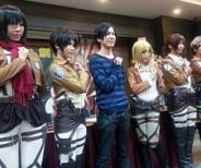 台湾の首都、台北市で諫山先生がサイン会へ。ファンからの一問一答も