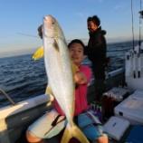 『6月18日 釣果 ジギング・キャスティング ヒラマサは12匹』の画像