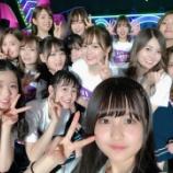 『【乃木坂46】中村麗乃のバスラ集合写真の後ろにぼやっと写ってるメンバー誰やwwwwww』の画像