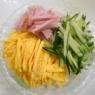 具だくさんな春雨サラダ(辛子マヨ添え)&今回のメシ通さんは「瓶詰めナメタケ」