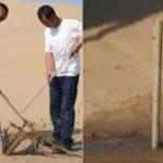 【動画】中国の砂漠の緑化、1本の植樹を10秒でやっちゃいます!その様子がこちら [海外]
