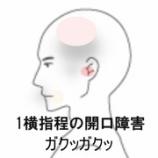 『顎関節症 室蘭登別すのさき鍼灸整骨院 症例報告』の画像