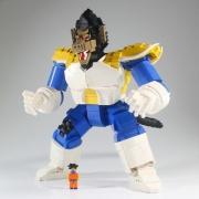 LEGOで「大猿ベジータ」完成しました!