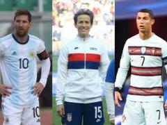 メッシ&クリロナさん、女子サッカー選手に批判される…