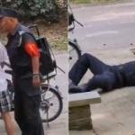 【動画】中国、市民から暴力を振るわれたフリをする公安警察、コントかよ~w [海外]