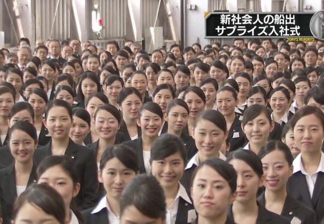 日本と中国の入社式の違いwwww
