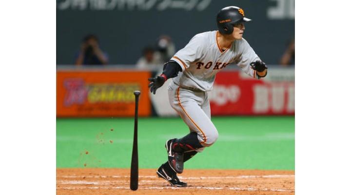 巨人4人目のセカンド・・・若林晃弘(25)  .424 (33-14)  2本  8打点  4盗塁  出塁率.487  OPS1.184  失策3