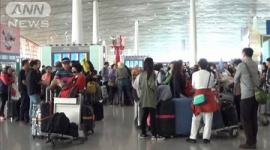 【テレ朝】中国の大型連休で5憶人が海外旅行、そのうち25%(1憶2500万人)が日本旅行の予定