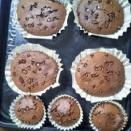 チョコカップケーキ作り