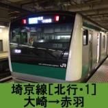 『埼京線 車窓[北行・1]大崎→赤羽』の画像