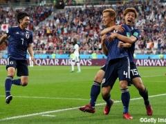 【 日本代表 vs セネガル 】試合終了!本田圭佑がW杯3大会連続のゴールで同点に追いついた日本代表!2-2で終える!