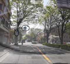 『あ!また捕まってる』宝塚郵便局への『右折禁止』をご確認ください!。