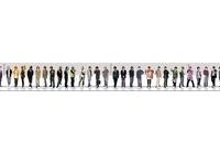 『男性声優身長順一覧の完成度が高すぎる 総勢112名』の画像