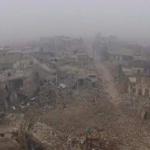 【動画】シリア、激戦で破壊され廃墟となったアレッポの惨状をドローンで空撮 [海外]