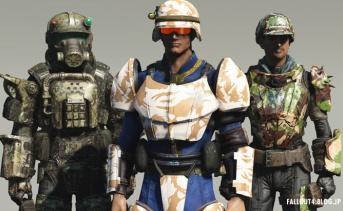 Camouflage Armor Paintjobs