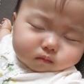 【赤ちゃん動画】 寝ながら泣いちゃった!そして寝ちゃった!