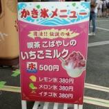 『浜名湖サービスエリアで喫茶こばやしのかき氷を食べてきた!』の画像