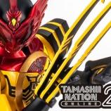 『【TAMASHII NATION ONLINE 2021】S.H.Figuarts(真骨彫製法)仮面ライダーオーズ スーパータトバ コンボ』の画像