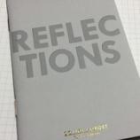 『「反省はしても後悔はしない」ナイスなミドル のための手帳 アートプリントジャパン「MINI LOG ノート 反省」』の画像