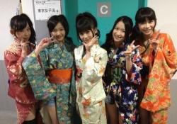 東京女子流ってのを初めてじっくり見たけどかなり可愛い子が二人在籍しているのな