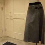『B DONNA (ビドンナ)へリンボンツイードスカート』の画像
