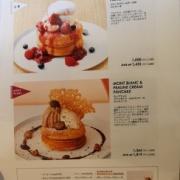 【東京 自由が丘】biblioteque ビブリオテーク東京・自由が丘 モンブランとプラリネクリームのパンケーキ カシスソース