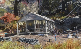 孤立したキャビン(Isolated cabin)