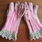 №150-5 オランジュ(プロバンスシリーズ)でかぎ編み手袋 5