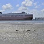 【米国】韓国・車両運搬船、転覆事故「日本船が避けないから転覆した、目撃者もいる」米港水先案内人協会「直接的な関連がないことが確認された」