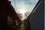 交野市内。落陽の日差しの抜け道、素敵な脇道・路地~交野さんぽ⑱~