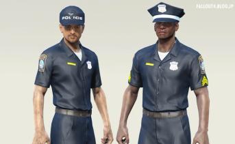 Boston police uniform pack standalone