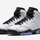 『直リンク 3/4 発売 Air Jordan 6 Retro BG 384665-122』の画像