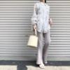 GUの「ストレッチフレアパンツ」の使用感レビュー!美シルエットで、スタイルが良く見える優秀パンツ。ストレッチが効いていてストレスフリーな穿き心地もグッド♪