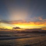 『鎌倉由比ガ浜の夕暮れ』の画像