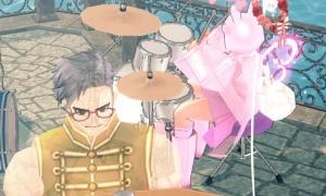 ドラムの神がかった演奏とファンタスティックハーモニー2次タイトル(エフェクトつき!)