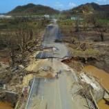『ハリケーンが直撃したプエルトリコ』の画像