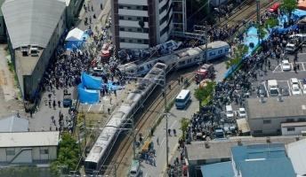 福知山線脱線事故とか言う史上最大の脱線事故