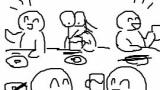 ワイ有能、飲み会の席は年の近い者でグループを作ることを提案
