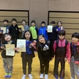 『宮城県小学生卓球選手権大会行ってきました』の画像