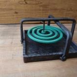 『蚊取線香角皿』の画像