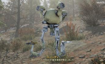 ランダムエンカウント「爆発寸前のパラノイドロボット」