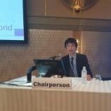 """『第56回日本リハビリテーション医学会学術集会  """"English Session""""の座長』の画像"""
