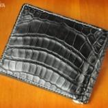 『<12月28日>クライス珠玉のマネークリップ! ナイルクロコダイルとシェルコードバン!』の画像