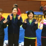 『平成28年度仙台市春季卓球リーグ戦』の画像